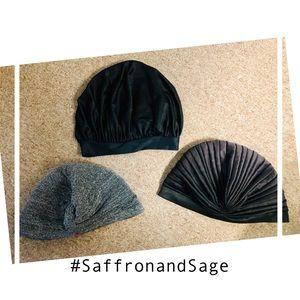 3 Bonnets & Turbans